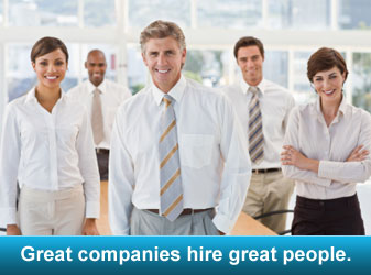 Great companies hire great people.